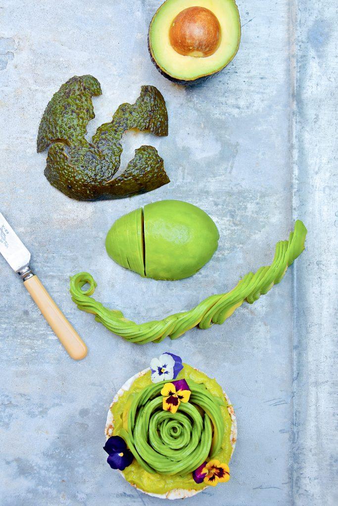 Zo maak je een avocadoroos