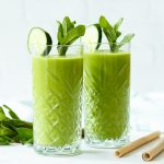 Groene monster smoothie