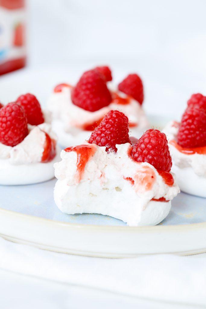Vegan meringue taartjes