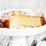 Italiaanse ricotta cheesecake met marsepein