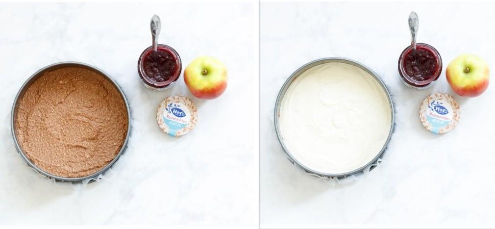 Appel-bosvruchtentaartje