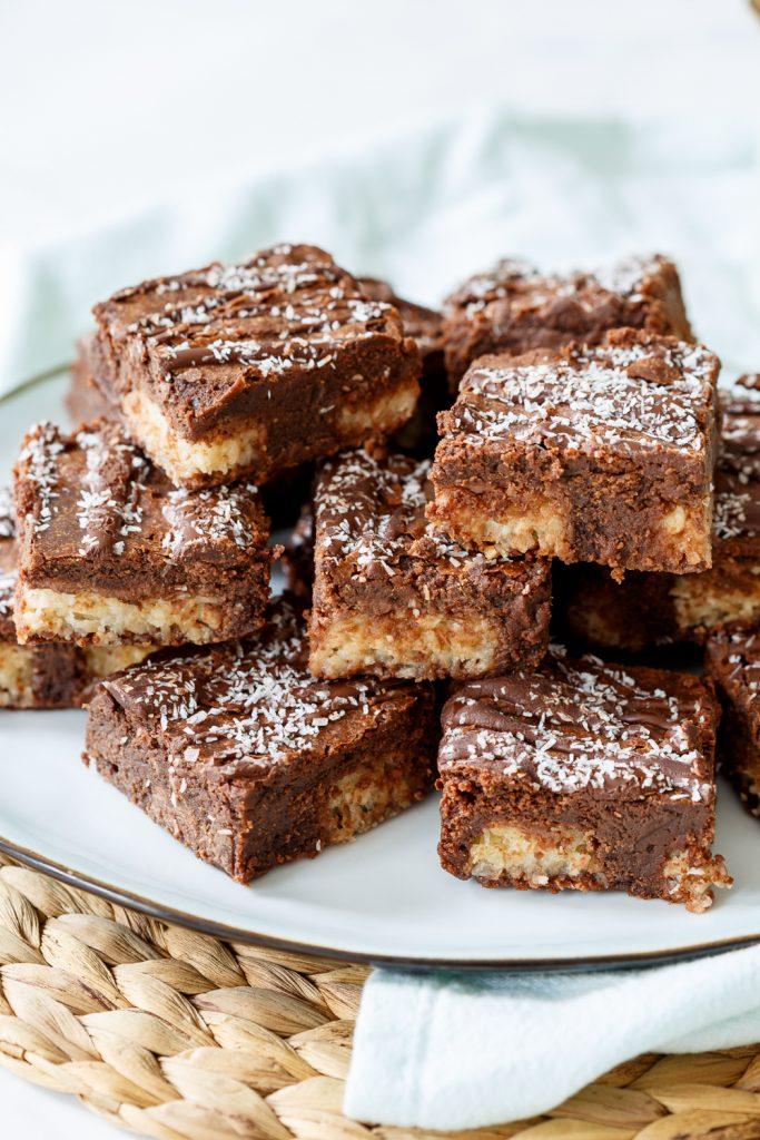 Bounty brownies