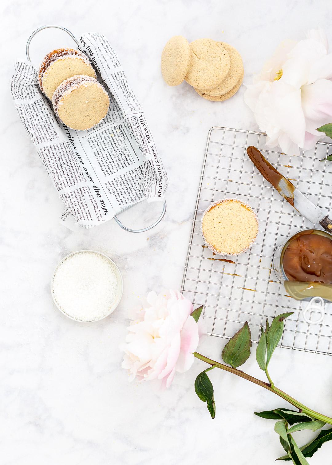 Alfajores koekjes van Máxima