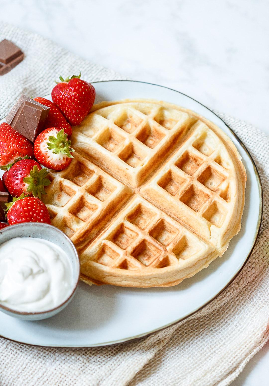 basisrecept ontbijtwafels